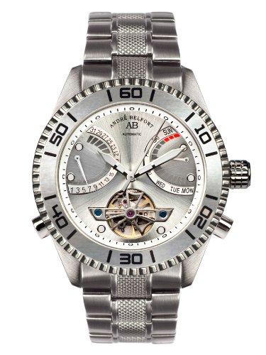 Andre Belfort Herren Armbanduhr Voilier Stahl Silber 410159