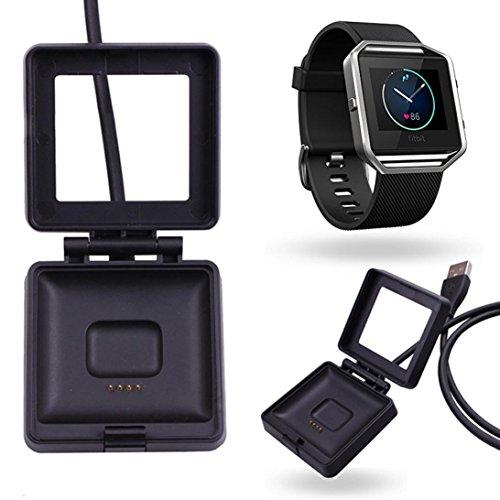 fuer Fitbit Blaze Ularmo USB Power Charger Kabel Akku Ladestation