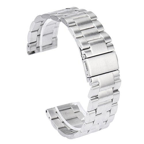 fuer Fitbit Blaze Ularmo Edelstahl Armband Buegel Uhrenarmband