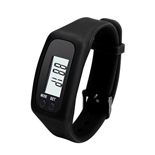 Ularmo Digital LCD Pedometer lassen Schritt Fuss erreichbar Kalorienzaehler Uhr Armband