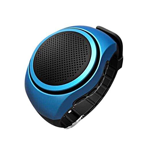 Ularmo Freihaendiger Anruf waehrend der Fahrt At Ease Sport Bluetooth Musik Uhr