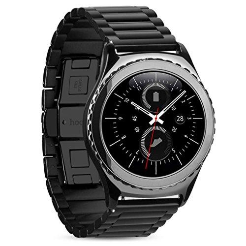 Ularmo fuer Samsung Gear S2 Classic SM R7320 Edelstahl Uhrenarmband Armband Band
