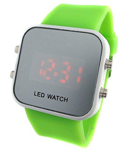 Yarbar Armbanduhr Digital Automatik YBCFR Watch000026 Green