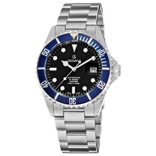 Grovana Herrenarmbanduhr Diver Automatic 15712135