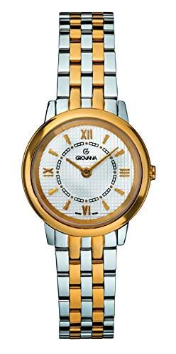 GROVANA Damen-Armbanduhr 37081142 Analog Zweifarbig 37081142