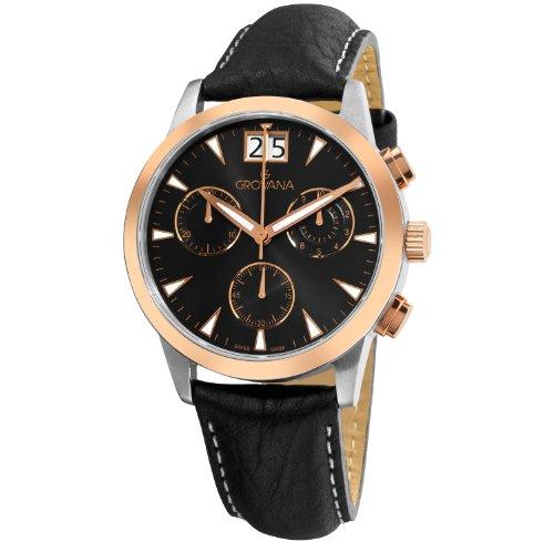Grovana Chronograph Quarz Leder 1722 9557