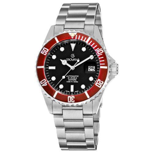 Grovana Herrenarmbanduhr Diver Automatic 1571 2136