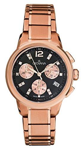 Grovana Unisex Armbanduhr Chronograph Quarz Gold 5094 9267