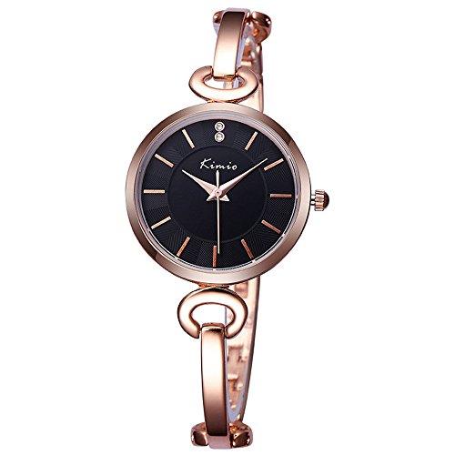 Mode Leisure Streifen Zifferblatts Damen Armband Uhr Quarzuhr