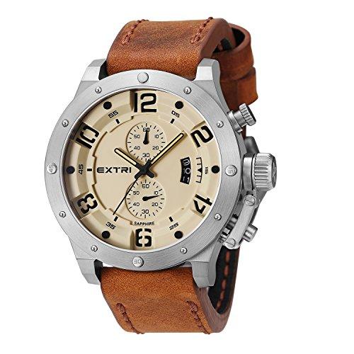 Extri Herren Armbanduhr X3005E