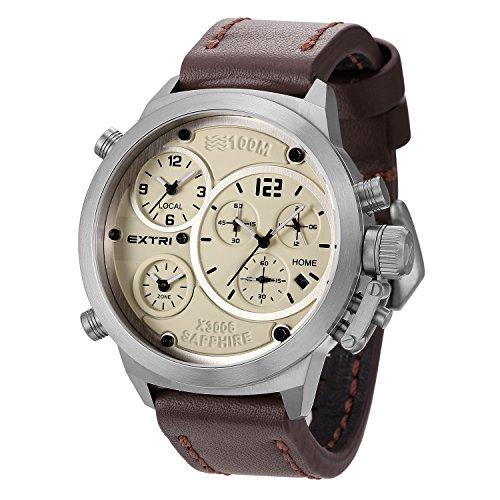 Extri Herren Armbanduhr X3006E