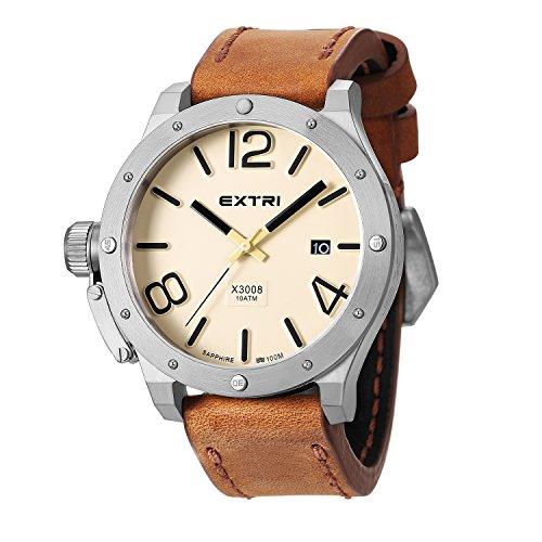 Extri Herren Armbanduhr X3008D