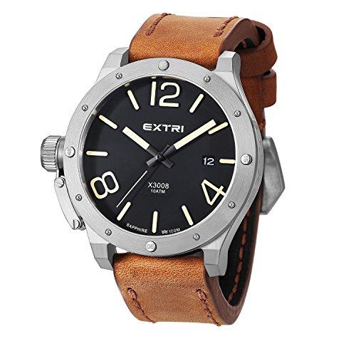 Extri Herren Armbanduhr X3008E