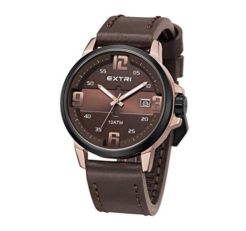 Extri Herren Armbanduhr X3010C