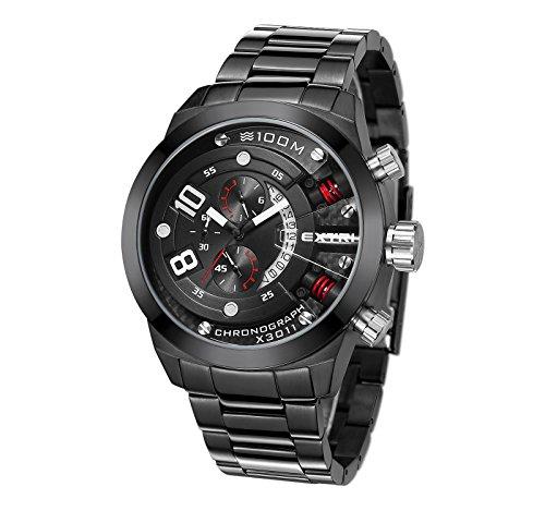 Extri Herren Armbanduhr X3011SE