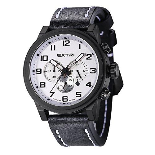 Extri Chronograph Quarz Leder X3001B