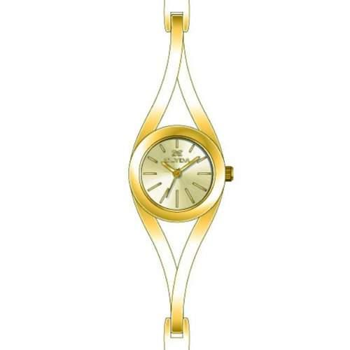 Clyda Damen-Armbanduhr Analog gold CLA0440PTIW