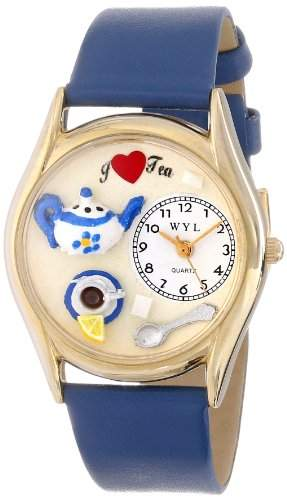 Whimsical Watches Unisex-Armbanduhr Analog Quarz Leder C-0310010