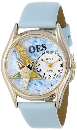 Whimsical Watches Unisex-Armbanduhr Analog Quarz Leder C-0710008