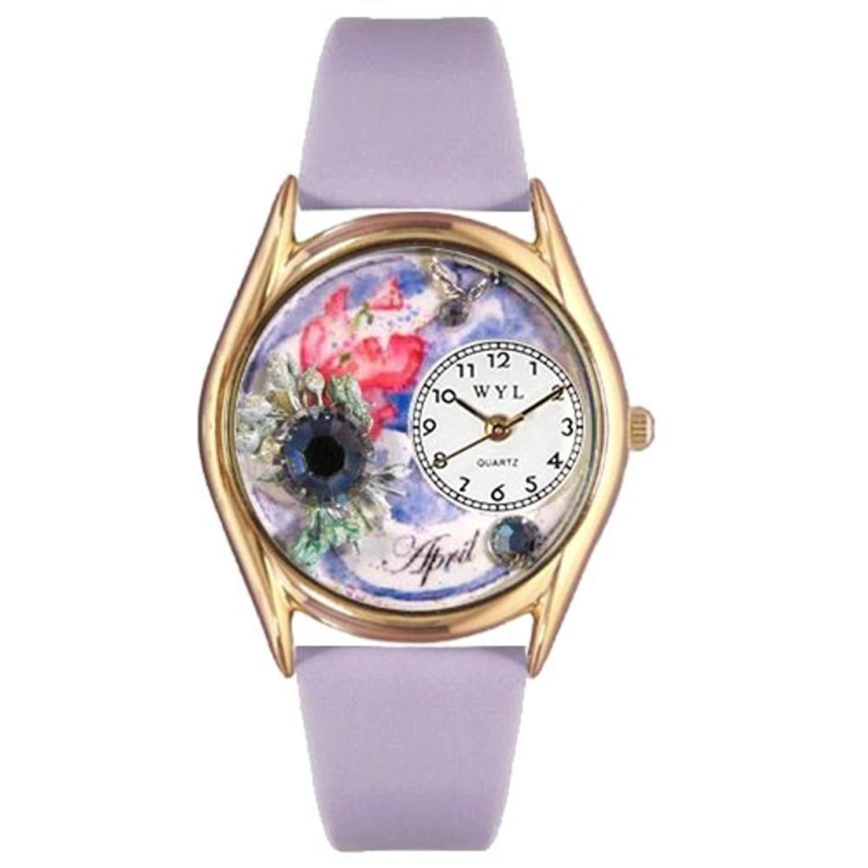 Whimsical Watches Unisex-Armbanduhr Analog Quarz Leder C-0910004