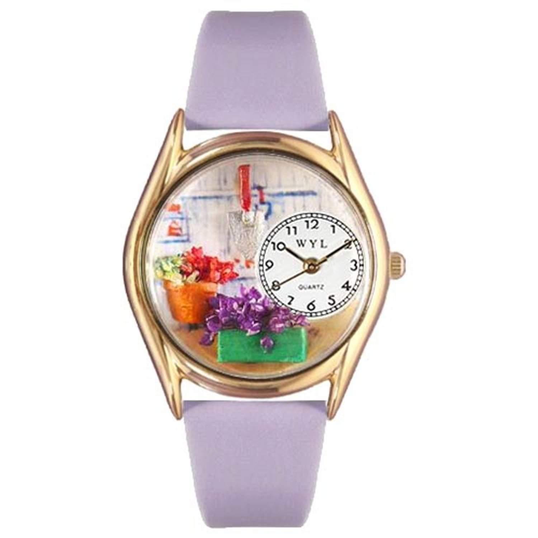 Whimsical Watches Unisex-Armbanduhr Analog Quarz Leder C-1211001