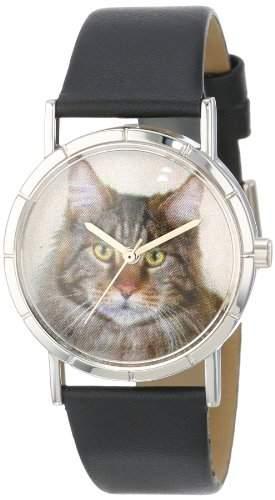 Whimsical Watches Unisex-Armbanduhr Analog Quarz Leder R-0120051
