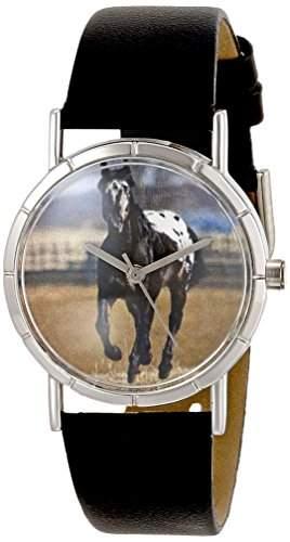 Whimsical Watches Unisex-Armbanduhr Analog Quarz Leder T-0110022