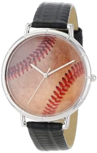 Whimsical Watches Unisex-Armbanduhr Analog Quarz Leder T-0840001
