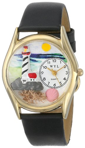 Whimsical Watches Unisex Armbanduhr Analog Quarz Leder C 1210012