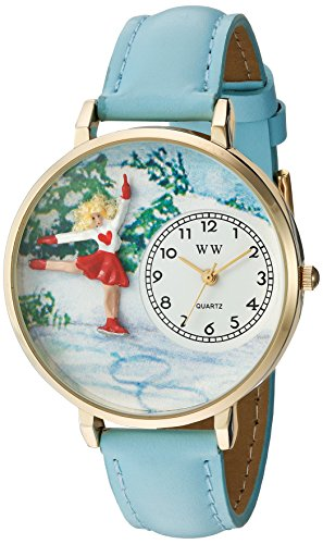 Whimsical Watches Unisex Armbanduhr Analog Quarz Leder G 0810024