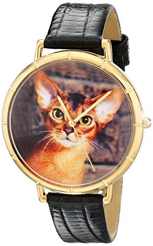 Whimsical Watches Unisex Armbanduhr Analog Quarz Leder N 0120033