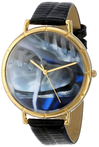 Whimsical Watches Unisex Armbanduhr Analog Quarz Leder N 0840026