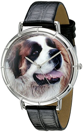 Whimsical Watches Unisex Armbanduhr Analog Quarz Leder T 0130070