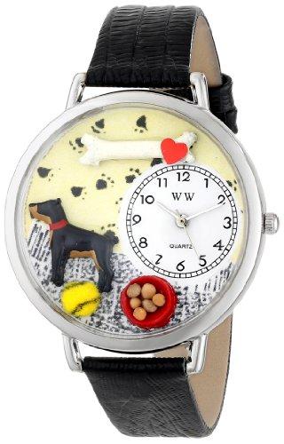 Whimsical Watches Unisex Armbanduhr Analog Quarz Leder U 0130035