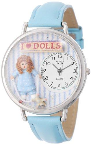 Whimsical Watches Unisex Armbanduhr Analog Quarz Leder U 0220001