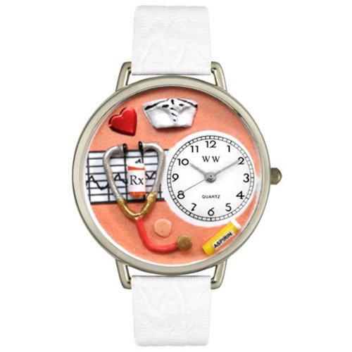 Whimsical Watches Unisex Armbanduhr Analog Quarz Leder U 0620043
