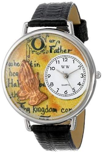 Whimsical Watches Unisex-Armbanduhr Analog Quarz Leder U-0710011