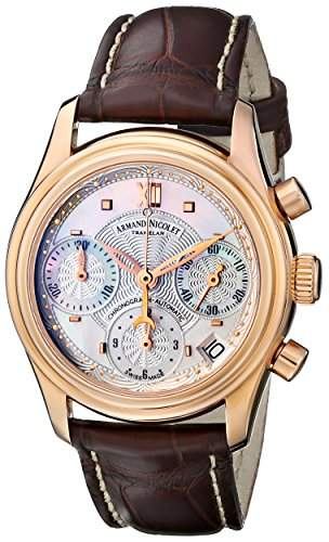 Armand Nicolet M03 Chronograph Date 18kt Rose Gold 7154A-AN-P915MR8
