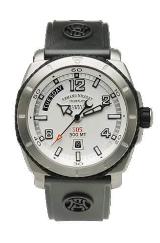 Armand Nicolet S05 Day-Date Automatik 9610A-AG-G9610