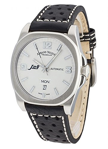 Armand Nicolet J09 Day Date Automatic 9650A AG P660NR2