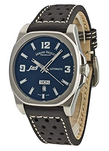 Armand Nicolet J09 Day Date Automatic 9650A BU P660NR2