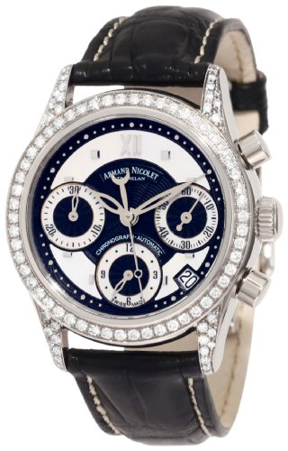 Armand Nicolet Quebec 9154l nn p915nr8 Armbanduhr Damen
