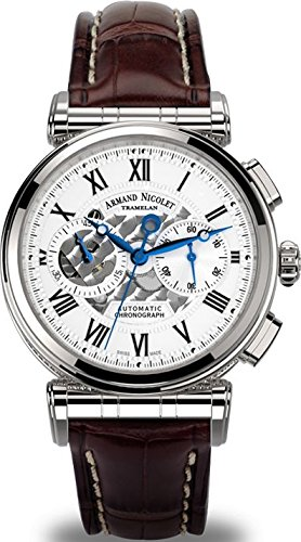 Armand Nicolet Arc Royal Chronograph A424AAA AG P974MR2