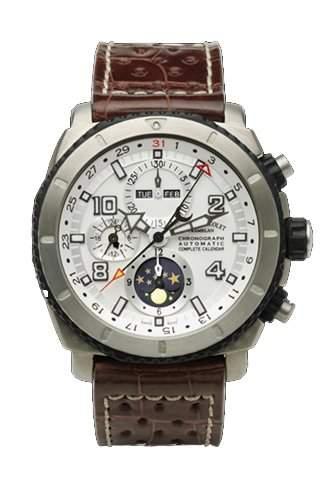 Armand Nicolet S05 Complete Calendar & Cronograph mit Mondphase T618A-AG