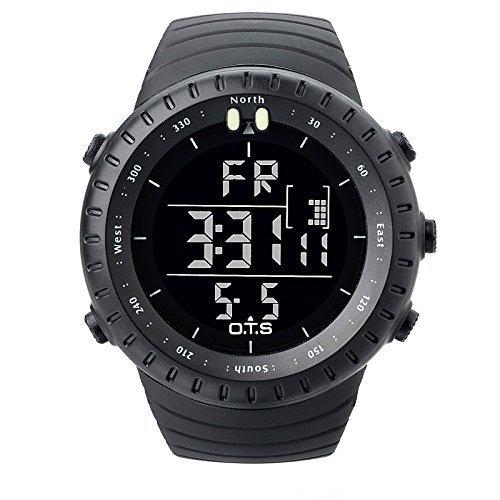 o t s Herren Sport multi functions Digital Uhr mit Big Zifferblatt