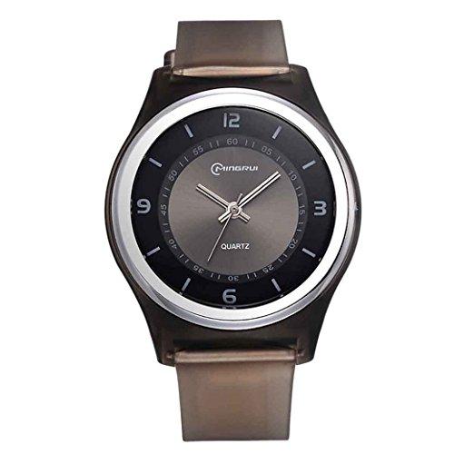 Feoya Kinder Maedchen Uhr Sport Armbanduhr Alltagsleben Wasserdichte Kids Uhren PU Uhrband Elekronische Quarzuhr Kinderarmbanduhr Quartz Watch Schwarz