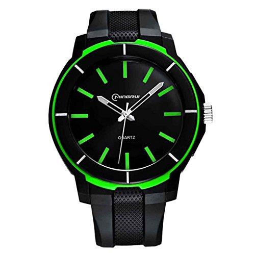 Feoya Student Jungen Uhr Outdoor Sport Armbanduhr Alltagsleben Wasserdichte Schueler Uhren Elekronische Quarzuhr Students Quartz Watch Gruen