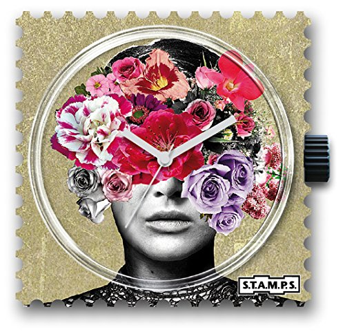 S T A M P S Uhr Head Full Of Flowers 103781