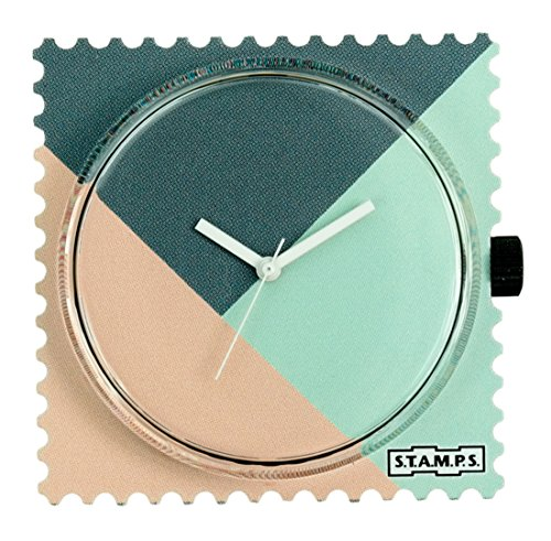 Stamps S T A M P S Uhr Zifferblatt Triangles 104307