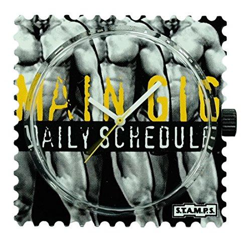 Stamps S T A M P S Uhr Zifferblatt Main Gig 100063